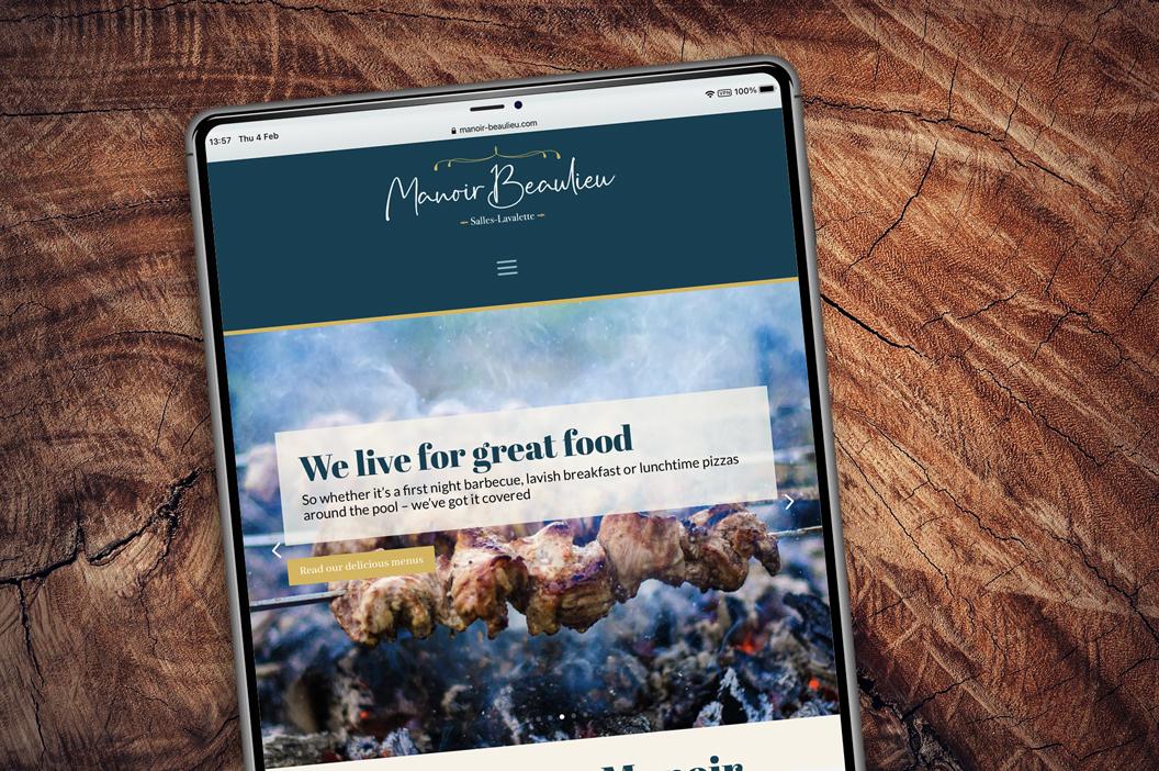 Manoir Beaulieu website